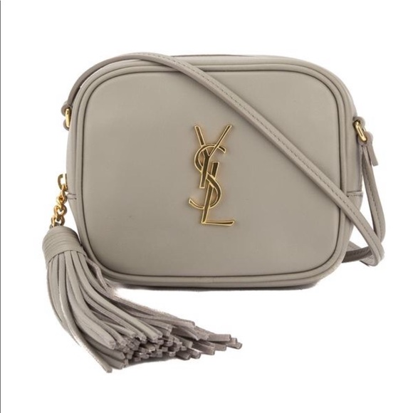 2caa4329 YSL Monogram Blogger Bag